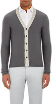 Giorgio Armani MEN'S COLORBLOCKED CARDIGAN