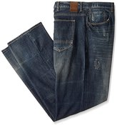 Sean John Men's Big and Tall Patch Pocket Hamilton Jean