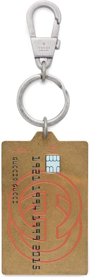 Gucci credit card keychain