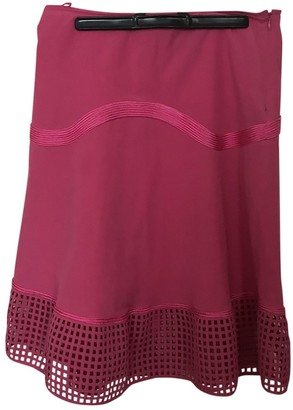 Salvatore Ferragamo Pink Cotton - elasthane Skirt for Women