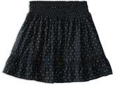 Ralph Lauren Girls' Smocked Batiste Print Skirt - Sizes S-XL