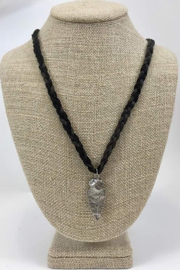 Alkemie Jewelry Small Arrowhead Necklace