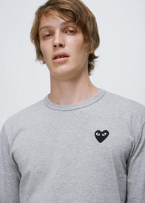 Comme des Garcons Black Heart Long Sleeve T-shirt