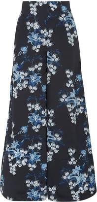 Johanna Ortiz Dream State Floral-print Silk Crepe De Chine Wide-leg Pants