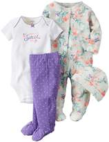 Carter's Baby Girls 4 Pc Sets 126g463