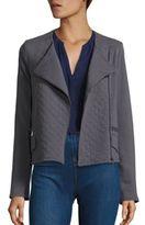 Soft Joie Joie Jayla Cotton French Terry Moto Jacket