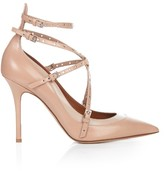 Valentino Love Latch leather pumps