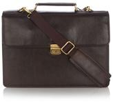 Osborne Brown Leather Briefcase