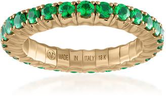 Vittorio B. Fine Jewels Fit For Life Jewels 18K Gold Tsavorite Ring