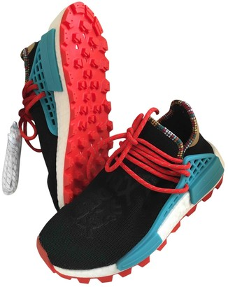 Adidas X Pharrell Williams NMD Hu Black Cloth Trainers