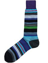 Paul Smith Men's Striped Halentoe Socks