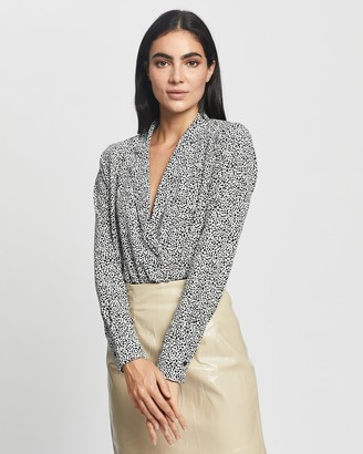 Glamorous Dalmatian Shirt Bodysuit