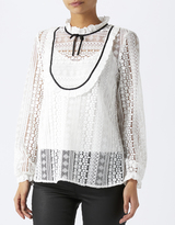 Monsoon Lottie Laura Lace Blouse