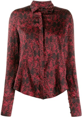 FEDERICA TOSI Embroidered Fitted Blouse
