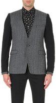 Lanvin Contrast-texture Wool Jacket