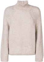 Fabiana Filippi ribbed high neck sweater