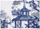 One Kings Lane Set of 4 Quince Place Mats - Blue/White
