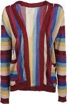 Laneus Striped Cardigan