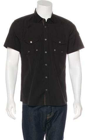 Gucci Short Sleeve Fitted Shirt