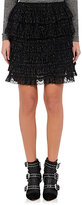 Isabel Marant Women's Tiered Blair Miniskirt