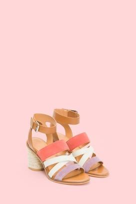 The Frye Company Leiah Mixed Strap Sandal