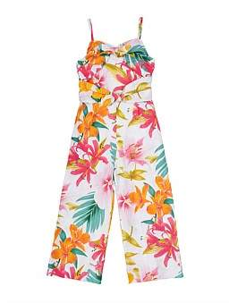 Review Martina Double Knot Front Jumpsuit (Girls 6-16)