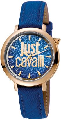 Just Cavalli Women's Logo Logomania Watch