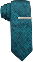 Alfani Men's Battery Solid Skinny Tie, Only at Macy's