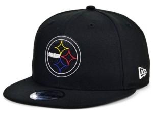 New Era Little Boys Pittsburgh Steelers Draft 9FIFTY Snapback Cap