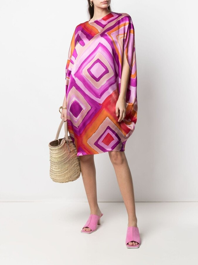Thumbnail for your product : Gianluca Capannolo Geometric Print Shift Dress