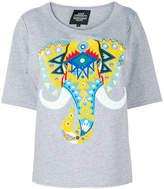 Katya Dobryakova elephant print T-shirt