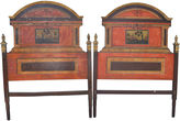 One Kings Lane Vintage 19th-C. French Twin Headboards, Pair