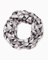 Charming charlie Mosaic Triangle Infinity Scarf