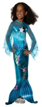 BuySeasons Magical Mermaid Toddler Little and Big Girls Costume