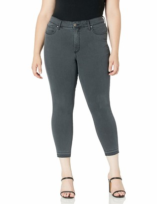 Jessica Simpson Women's Plus Size Adored Curvy High Rise Ankle Skinny