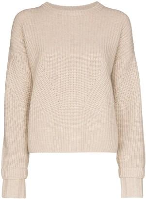 Le Kasha Corse cashmere chunky knit jumper