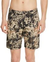 Scotch & Soda Floral Print Poplin Shorts