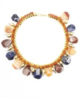 Assad Mounser Lady Jane Agate Collar, Coral