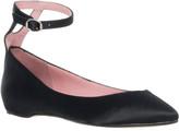 Max Studio Lauro - Satin Ankle Strap Skimmers
