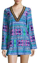 La Blanca Global Perspective V-Neck Cover-Up Tunic
