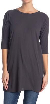 Frank And Eileen Slugger 3/4 Sleeve Tunic T-Shirt Dress