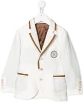 Brunello Cucinelli Kids single-breasted tailored blazer