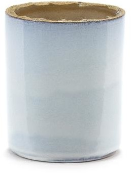 Serax Plant Pot Cement Blue Denim