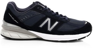 New Balance Men's 990v5 Suede & Mesh Sneakers