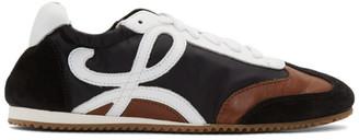 Loewe Black and Brown Ballet Runner Sneakers
