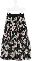 MonnaLisa floral gypsy skirt