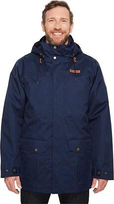 Columbia Big Tall Horizons Pine Interchange Jacket (Collegiate Navy/Collegiate Navy) Men's Coat