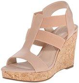 Adrienne Vittadini Footwear Women's Cleve Wedge Sandal
