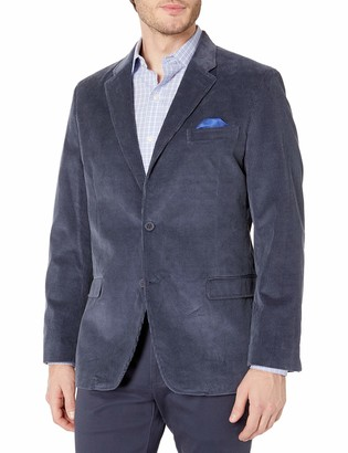 Ben Sherman Men's Two Button Slim Fit Cotton Cord Sportcoat