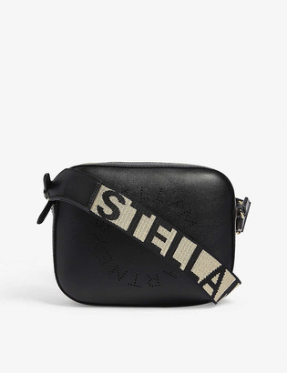 Stella McCartney Embossed logo camera bag